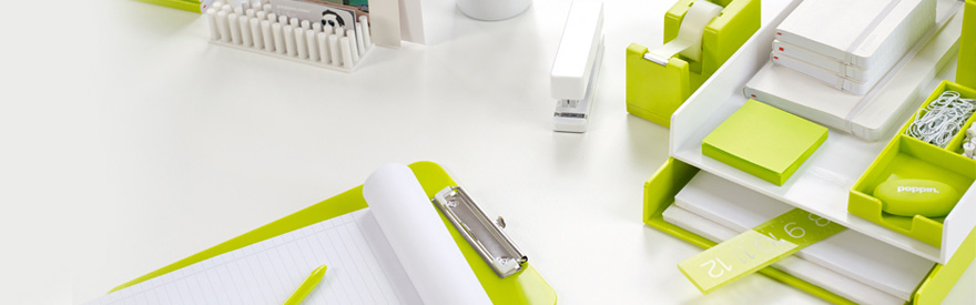 Lime Green Office Supplies Poppin